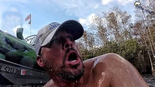 Alligators vs. Kayaks while Bass Fishing with DALLMYD in the Everglades - Very Dangerous