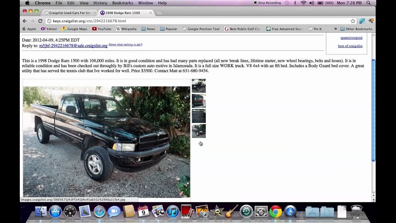 Cars For Sale In Florida Craigslist - Monson Cars