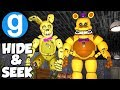 GMOD FNAF FREDBEAR FAMILY DINER PILL PACK HIDE AND SEEK! | Five Nights at Freddy's Garry's Mod