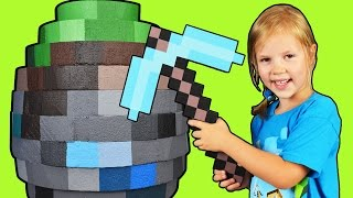 GIANT MINECRAFT EGG ☐ World's Biggest Minecraft Egg ☐ Surprise Egg in Minecraft