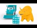 Çöp Kamyonu ve Dinozor Dino ile renkleri ve sayıları öğren | Çocuklar için eğitsel animasyonlar