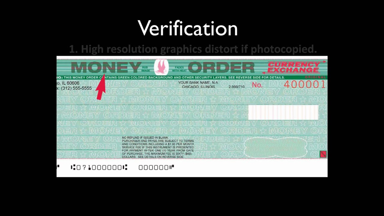 High Security Money Order  Currency Exchange view in HD