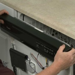 Kitchen Aid Dishwasher Repair 28 Inch Sink Control Panel Replacement – Whirlpool ...