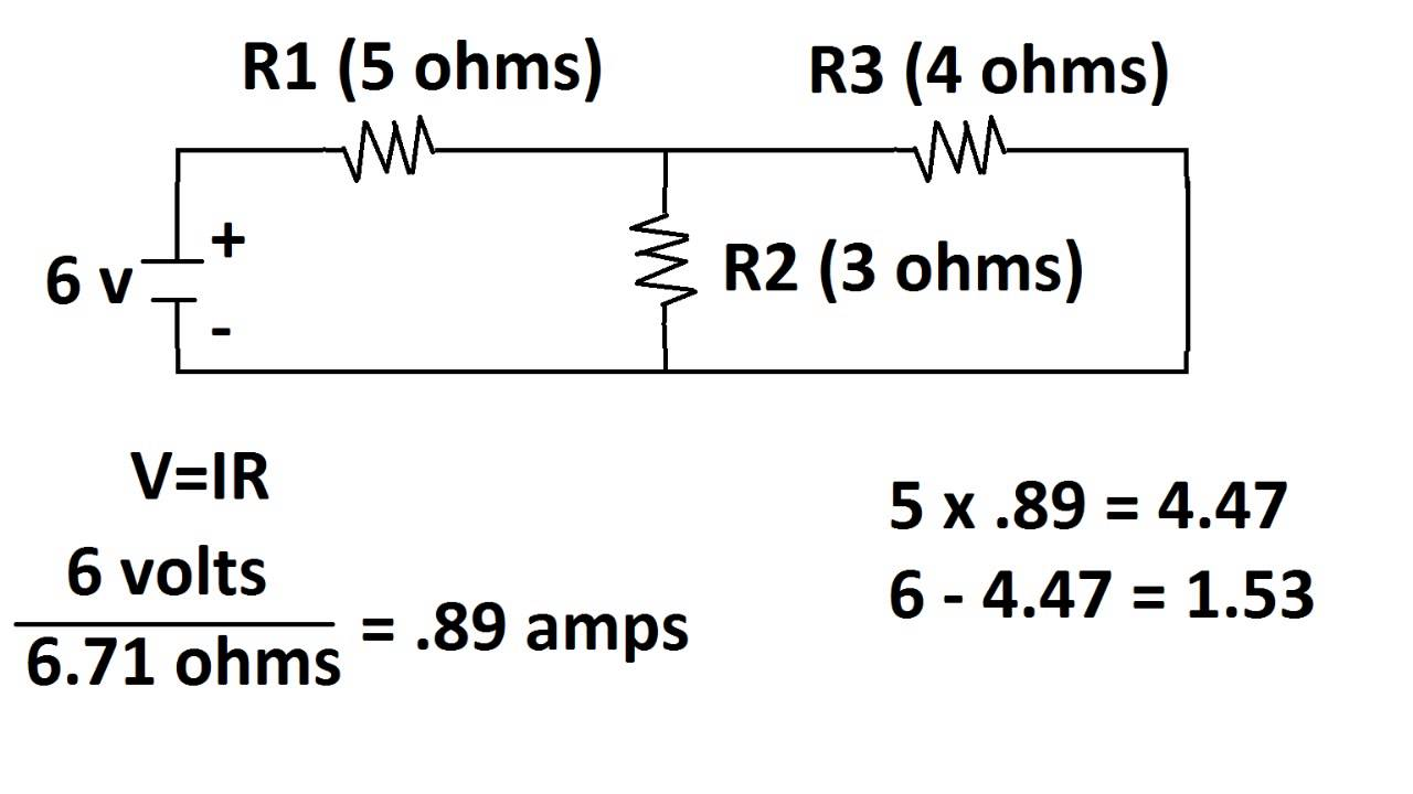 Circuit with Two voltage sources: how to find voltages of
