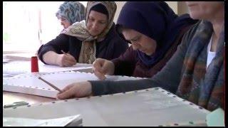 KKM'de Yapay Çiçek Yapımı ve Kasnakta Tığla Boncuk İşleme Kursları Veriliyor