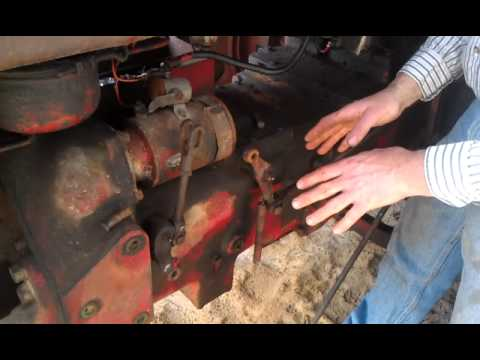 1947 8n Wiring Diagram How To Adjust The Farmall Torque Amplifier Youtube