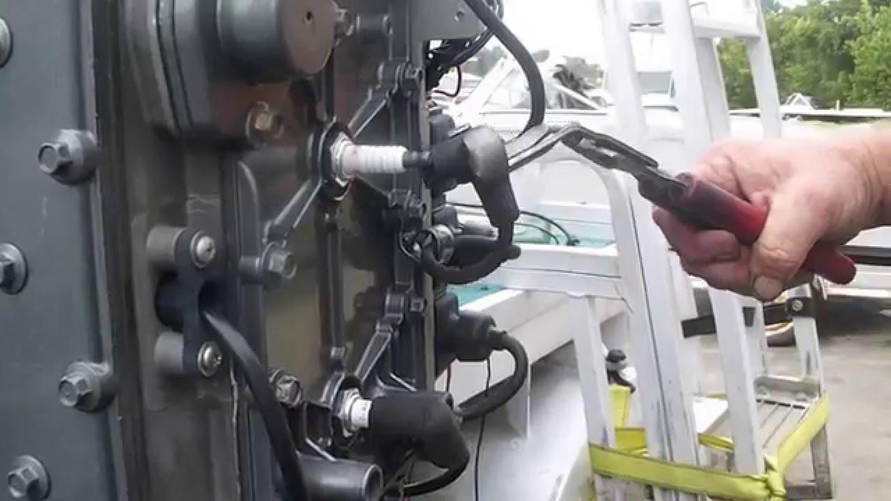 Hp Wiring Diagram Mercury 90 Hp 3 Cylinder Engine Now Running On All Three