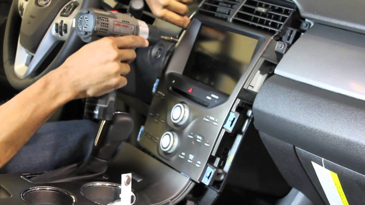 2015 Ford Fusion Dash Fuse Box 2013 Ford Edge Touch Screen Removal Youtube
