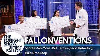 Fallonventions: Shortie-No-More 360, Tethys (Lead Detector), Hula Drop Stop