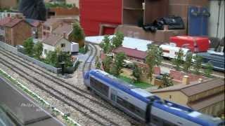 LE TRAIN EN MINIATURE. Modélisme ferroviaire à Wasquehal (16-17/02/2013). 3ème partie