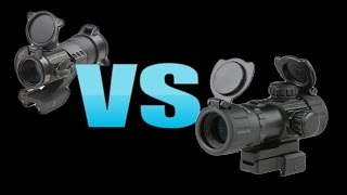 Krótkie porównanie Kolimator G&G G12 vs. UTG 3.9 ITA