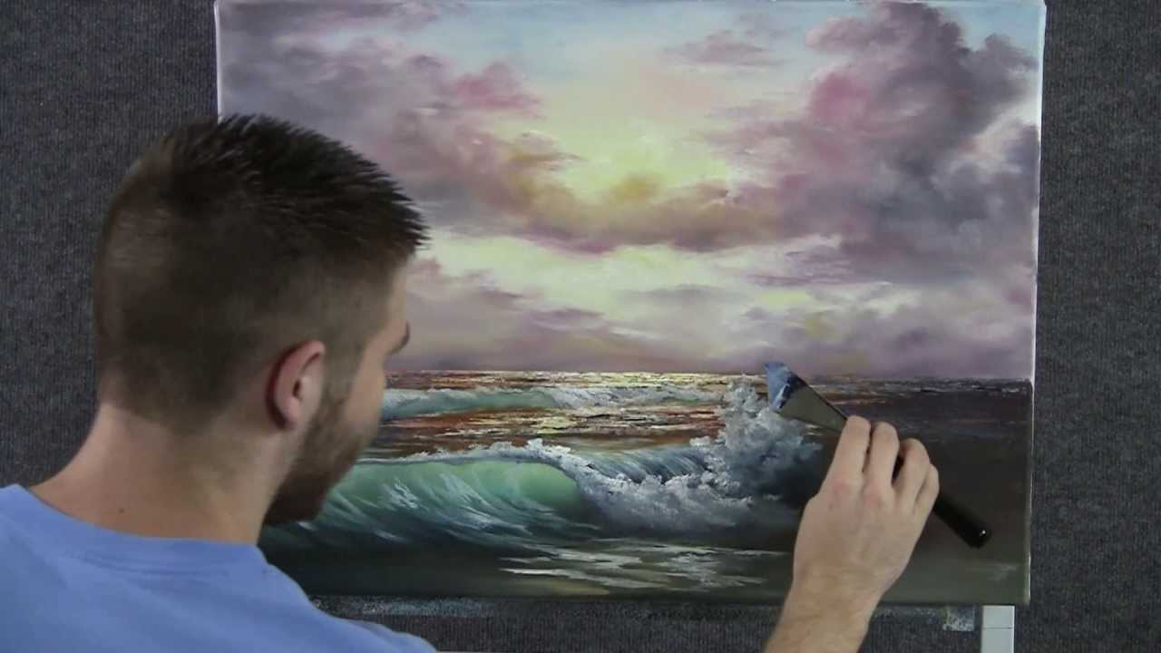 Paint with Kevin Hill  Sunset Beach  YouTube