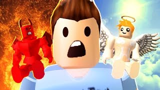 Roblox Adventures / Good vs Evil Obby / Angel or Death?!