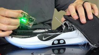 What's inside World's First Self Lacing Basketball Shoes?