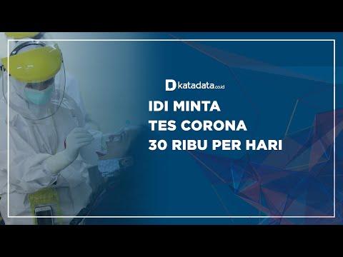 IDI Minta Tes Corona 30 Ribu per Hari   Katadata Indonesia