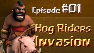 #01 - Clash Of Clans - Hog Riders (Chevaucheurs) - Stratégie d'attaque dévastatrice !