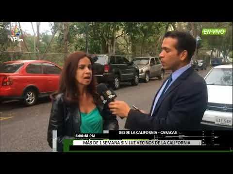 Venezuela - Vecinos de La California tienen más de una semana sin luz - VPItv