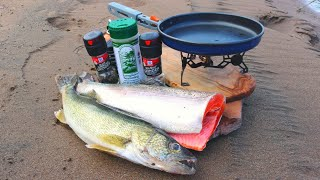 Catch n' Cook WALLEYE, Pink TROUT & Crawfish!