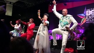 South African Artist Mafikizolo performs at 2014 BET Experience