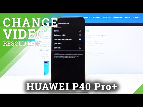 How to Change Screen Resolution on HUAWEI P40 Pro+ - Display Resolution Settings