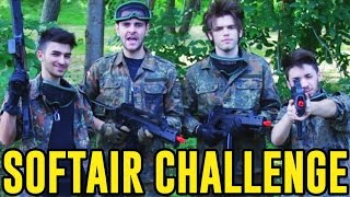 SOFTAIR CHALLENGE - UN DOLORE ATROCE! - iPantellas vs Matt & Bise