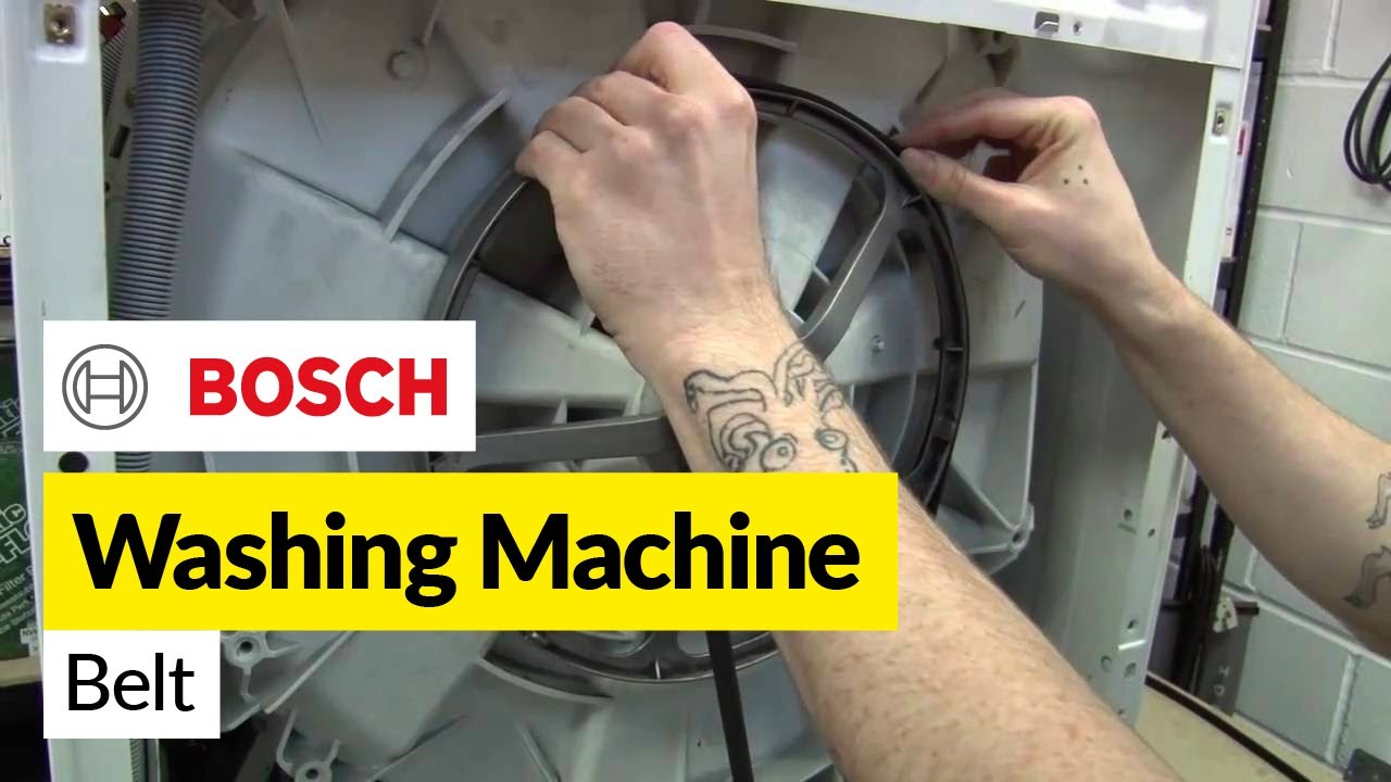 Avanti Wiring Diagram How To Replace A Washing Machine Belt On A Bosch Washer