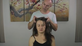 Head Massage & Face & Neck Massage - Relaxing ASMR