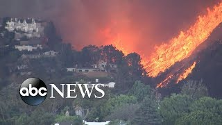 California declares state of emergency; entire city of Malibu evacuated