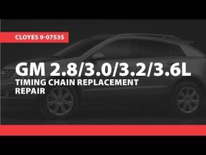 GM 36l V6 VVT Timing Chain Problems HD | VideoMoviles