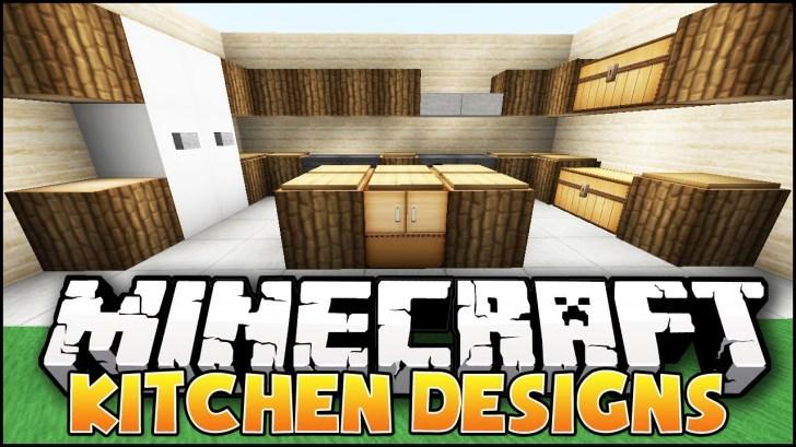 Minecraft Nice Kitchen Designs Ideas