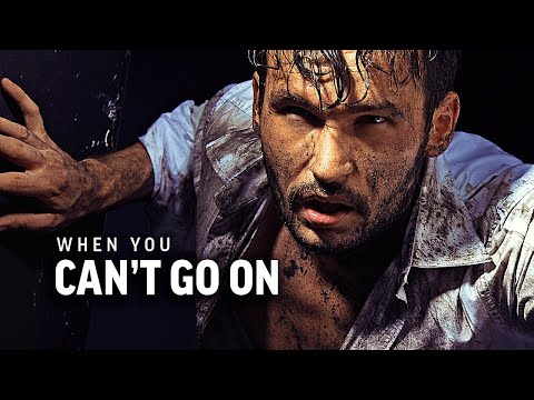 WHEN YOU CAN'T GO ON - Powerful Motivational Speech Video (Featuring Joe De Sena)