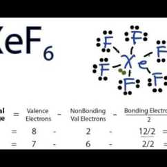 Electron Dot Diagram Periodic Table Alpine Type R 12 Wiring Xef6 Lewis Structure - How To Draw The For ...