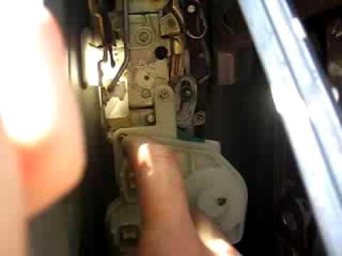 2003 Honda Civic Lx Wiring Diagram How To Replace Honda Civic Si Door Lock Actuator Youtube