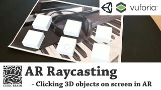 Touch screen, clicking objects on screen with Vuforia AR & Unity3D (Ray-casting in AR)