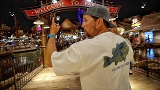 Biggest Tackle Shop in the World - This BLOWS our mind! No Spinner Worm..Really.