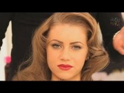 1940s hollywood glamour wave hairstyle