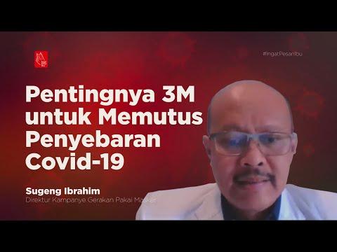 Pentingnya 3M untuk Memutus Penyebaran Covid-19   Katadata Indonesia