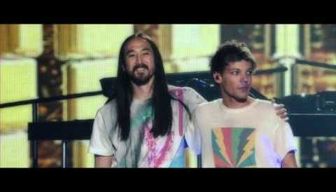 Download Music Steve Aoki & Louis Tomlinson - Just Hold On (Behind The Scenes)