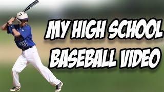 GiraffeNeckMarc High School Baseball Highlights - RECRUITING TAPE REACTION