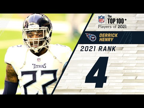 #4 Derrick Henry (RB, Titans) | Top 100 Players in 2021