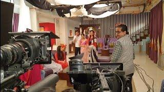 tv serial ki shooting kaise hoti hai | ″Ye hai mohabbatein″ Ke Set se
