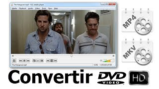 5 Pasos para Convertir DVD a MP4 / H.264 HD (Full HD )