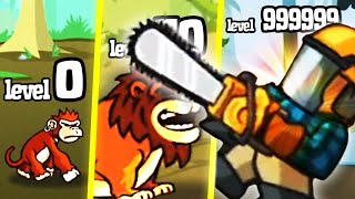 DEFEATING LEVEL 999 BOSS in Lumberwhack: Defend the Wild!
