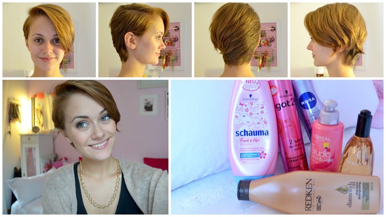 Kurze Haare Wachsen Lassen übergangsfrisur Hochsteckfrisuren