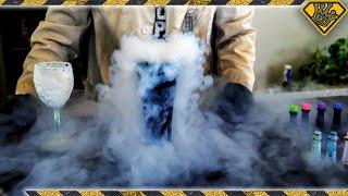 Will Food Coloring Dye Liquid Nitrogen Video
