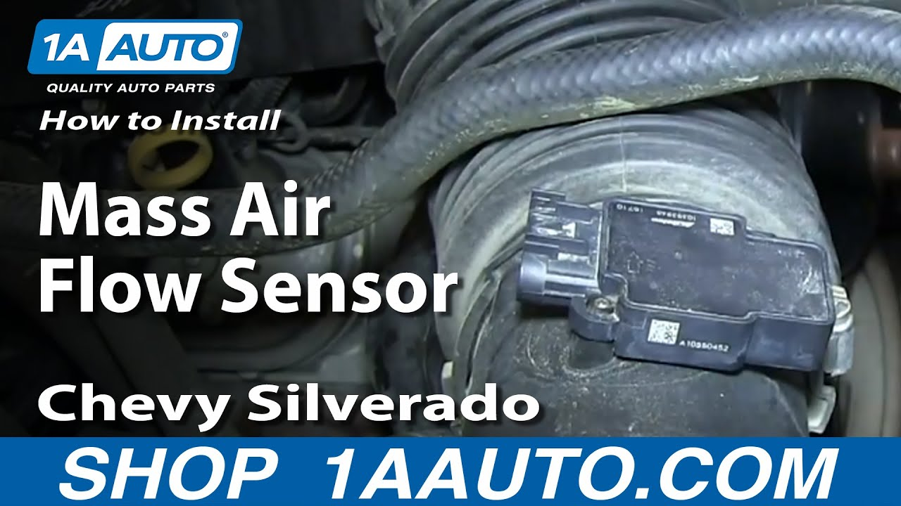 2011 Chevy Traverse Fuse Box Diagram How To Install Replace Mass Air Flow Sensor 2009 13 Chevy