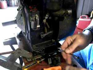 Installing and adjusting points and condenser on Briggs and stratton engines Tutorial  YouTube