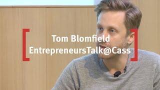 Tom Blomfield, CEO & Co-Founder of Monzo: EntrepreneursTalk@Cass