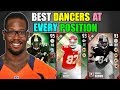 BEST DANCERS AT EVERY POSITION! Madden 17 Ultimate Team Squad Builder