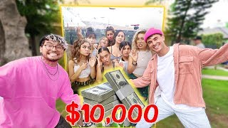 Last r To Leave The Box, Wins $10,000 (GIRLS EDITION)